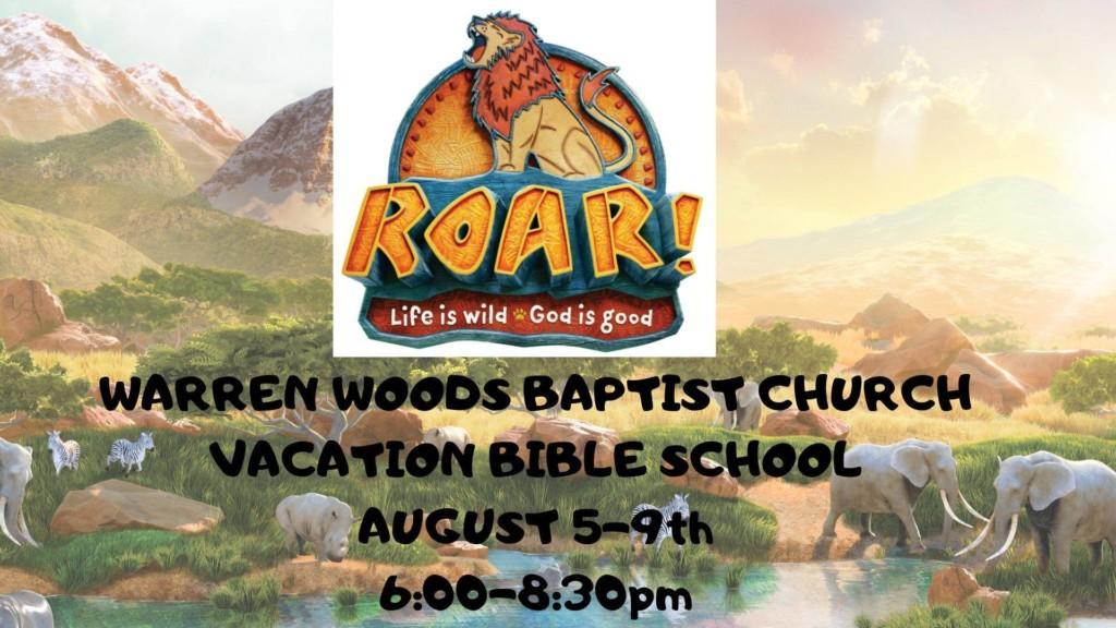 2019 Vacation Bible School – Warren Woods Baptist Church